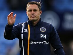Paul Hurst expected Shrewsbury Town to be fighting at the top of League Two