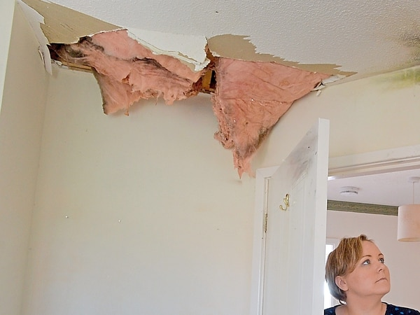 'Lucky to be alive': Shrewsbury family's home hit by lightning - with video