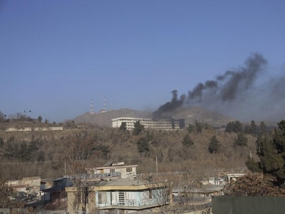 Five killed and dozens rescued as gunmen battle security forces at Kabul hotel