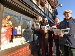 Shrewsbury businesses unveil 'advent calendar' window displays