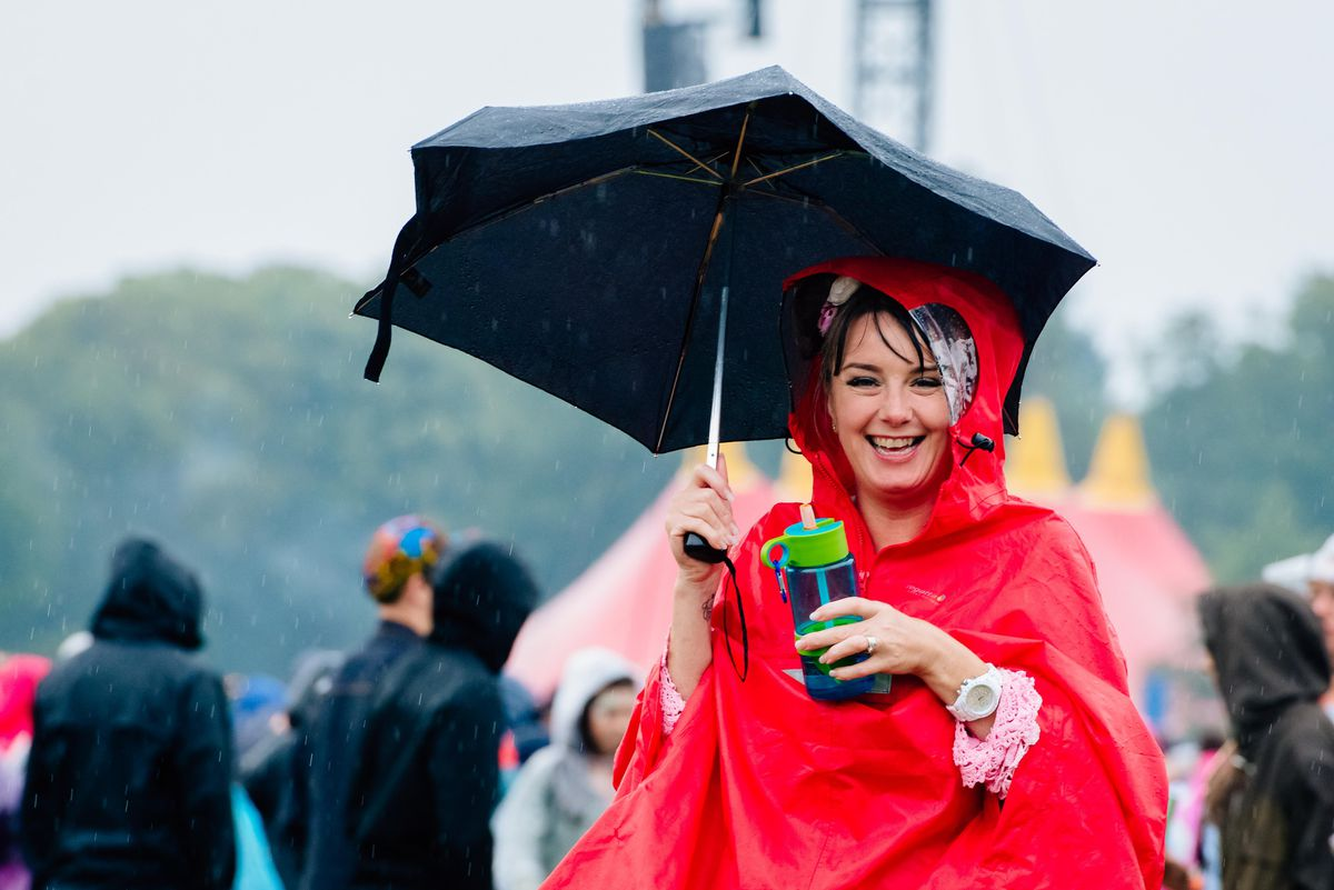 Rain didn't dampen spirits