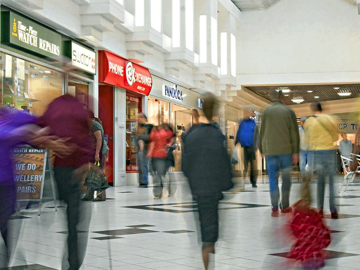 Shropshire Council will purchase Shrewsbury's shopping centres on January 23