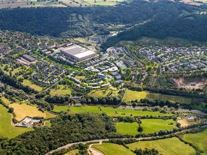 A developer's impression of the plans for the Ironbridge Power Station site