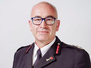 Chief fire officer Chris Davies