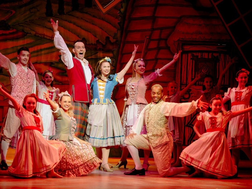 Mother Goose breaks records at Shrewsbury's Theatre Severn