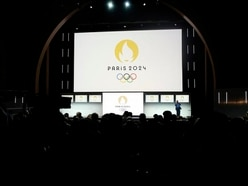 Paris Olympic logo compared to Tinder, shampoo and Jennifer Aniston