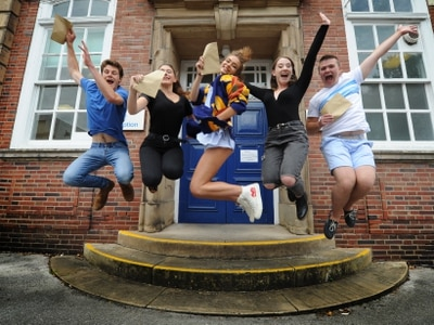 A-levels results day 2017: Shropshire and Telford students celebrate - with pictures