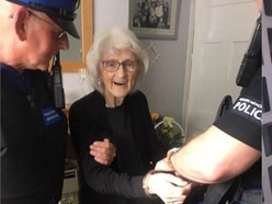 Great-great-grandmother, 92, asks to be arrested after 'a life of being good'