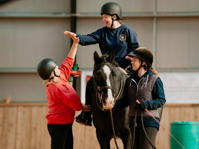 Shropshire riding school counting on votes to gallop towards prize