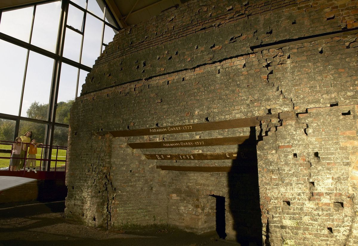 The furnace is considered by many to be the birthplace of the Industrial Revolution