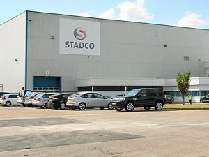 BUSINESS. Opening of Stadco Telford site. .