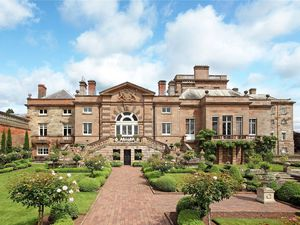 Patshull Park's west wing is on the market. Photo: Savills