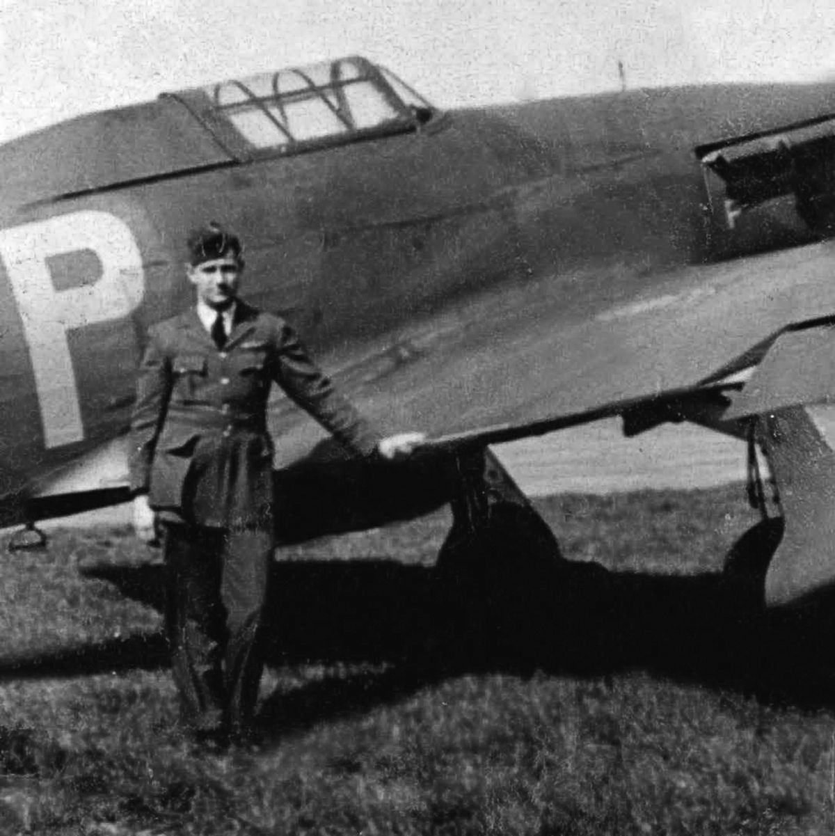 Jack Hamar was the pilot of a Hawker Hurricane fighter.