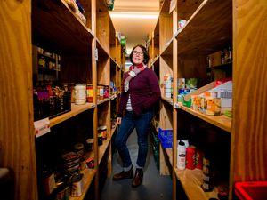 Karen Williams, manager of Shrewsbury Food Bank