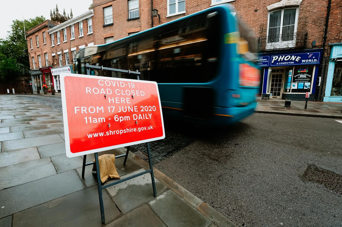 A number of measures have been put in place on Shrewsbury's streets