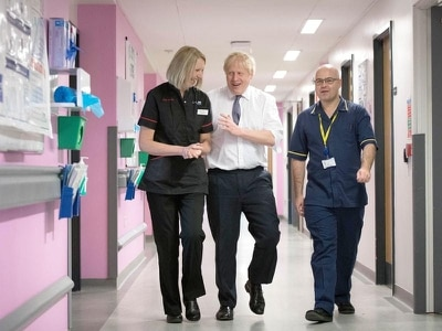 Johnson 'sympathises' with relative of OAP who waited for hours in A&E corridor