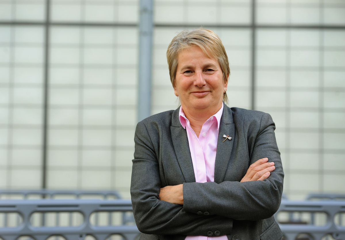 Chief executive of the Learning Community Trust, Dr Gill Eatough