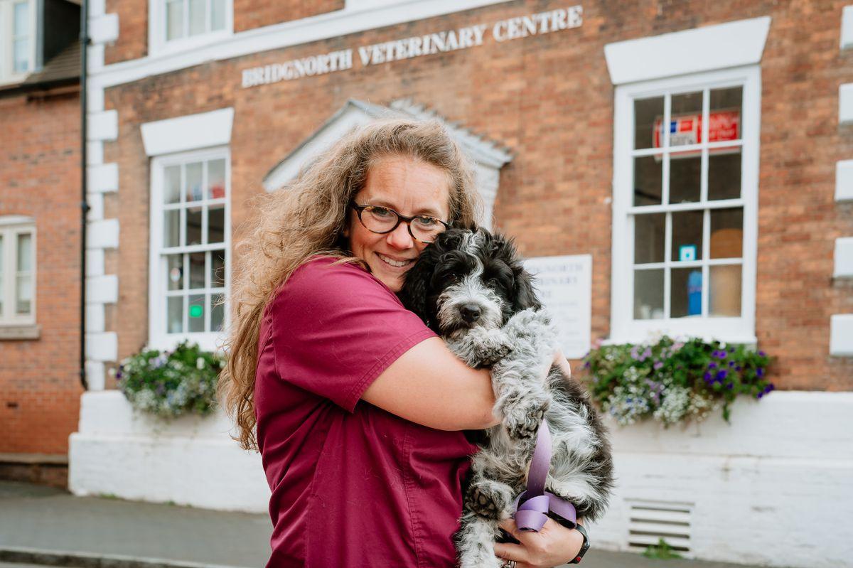 Sarah Probert, owner of Bridgnorth Veterinary Centre