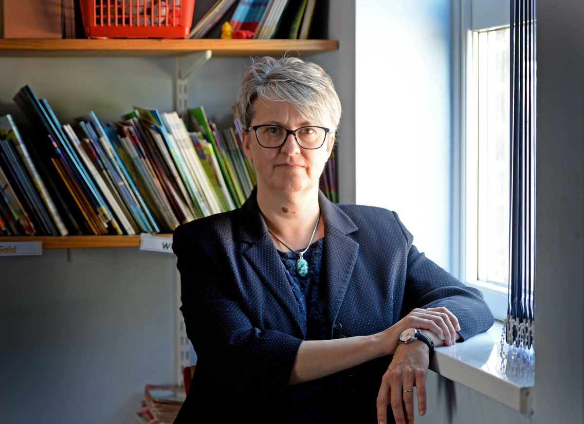 Sarah Godden, chief executive of the TrustED Schools' Partnership and former headteacher of Oldbury Wells School