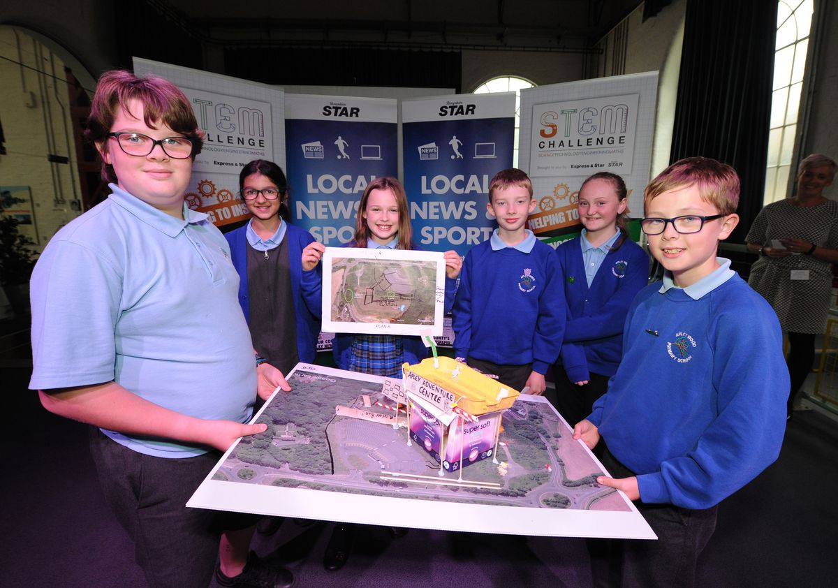 Best Planning winners – Students from Apley Wood Primary School
