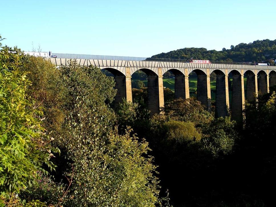 Pontcysyllte Aqueduct world heritage birthday celebrations
