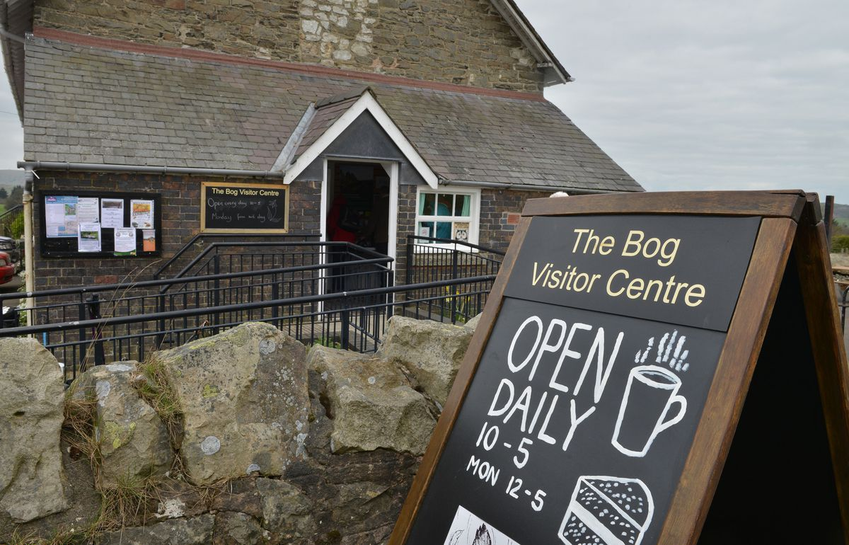 The Bog Visitor Centre on the Stiperstones