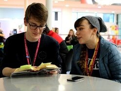 Telford College in open day