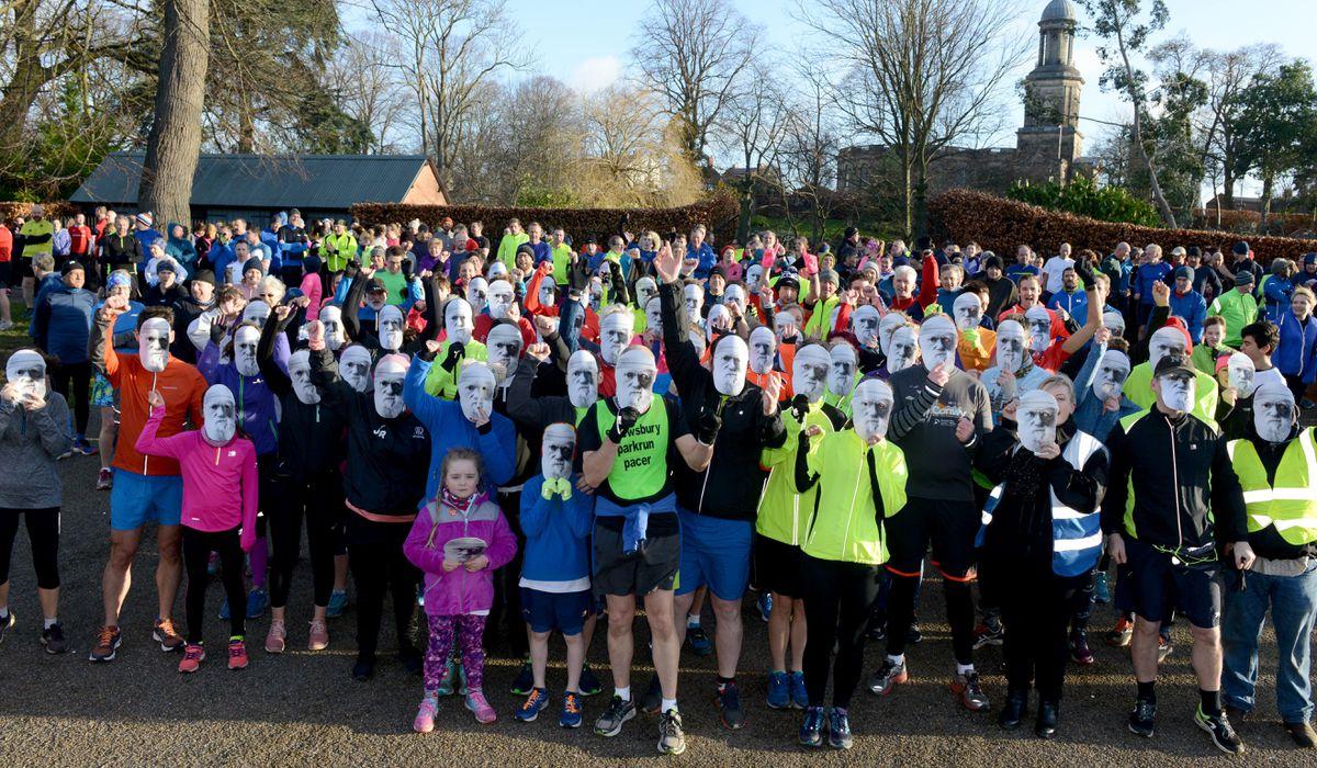 The Shrewsbury Park Run Darwin Run