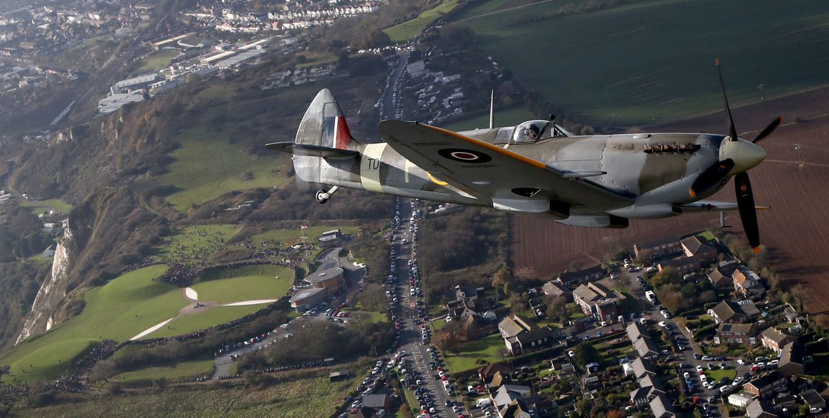 Spitfire fighter planes were integral in the Battle of Britain
