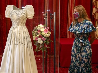 Beatrice reunited with wedding dress ahead of exhibition