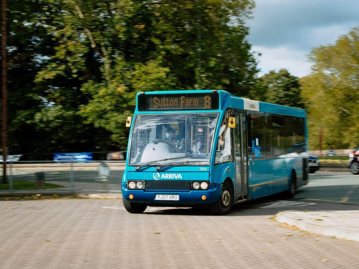 SHREWS COPYRIGHT SHROPSHIRE STAR JAMIE RICKETTS 25/09/2020 - Shrewsbury Bus Station..