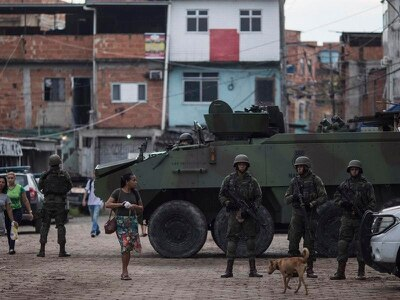 Brazil's congress approves military intervention in Rio