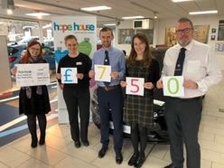 Arthurs Vauxhall drive hospice fundraising