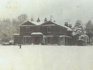Trench Hall in the winter of 1940/41