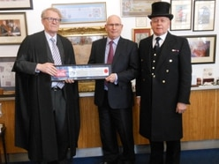 Bridgnorth man awarded Freedom of the City of London