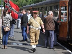 Telford Steam Railway's 1940s weekend turns back the clock - with pictures