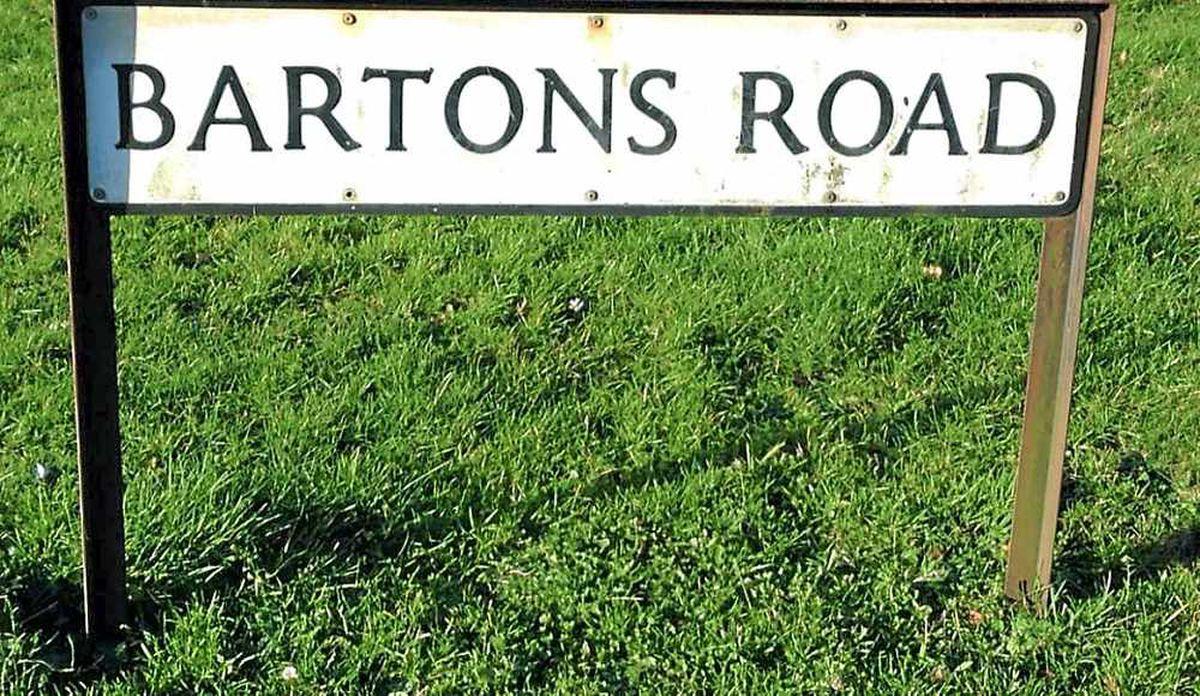 Bartons Road in Market Drayton