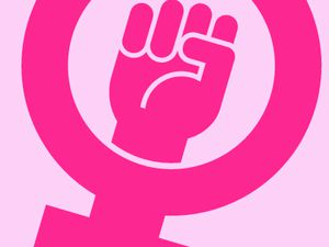 Right on – women are making a point
