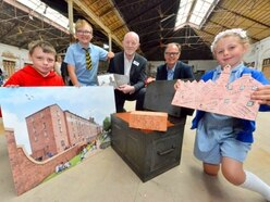 It's Flax to the Future with time capsule at Shrewsbury site - with pictures and video