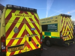 Man and woman struck by van near Oswestry remain in critical but stable condition