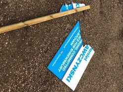 Shrewsbury Tory candidate 'not letting' vandals get to him