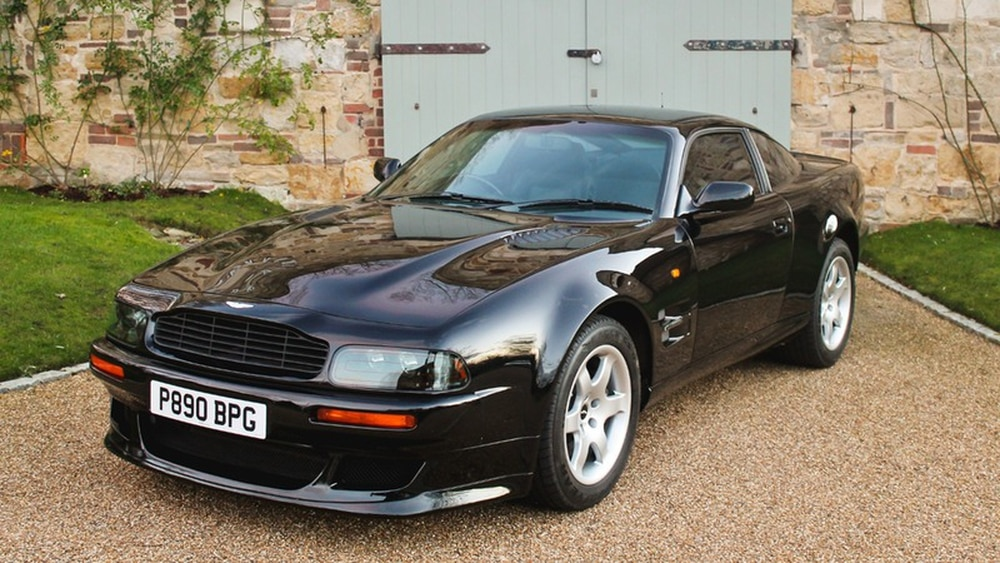 Classic Aston Martin V8 Vantage Owned By Elton John Heads To Auction