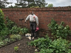 Anger as Bridgnorth Castle scarecrow used as a punchbag by vandals