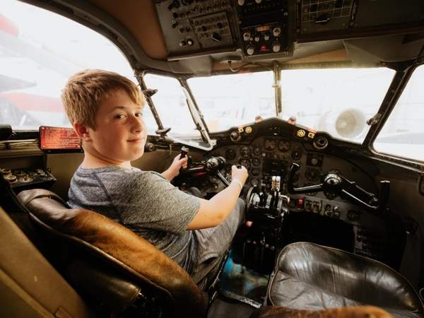 Plane fans enjoy open cockpits weekend at RAF Museum Cosford - with pictures