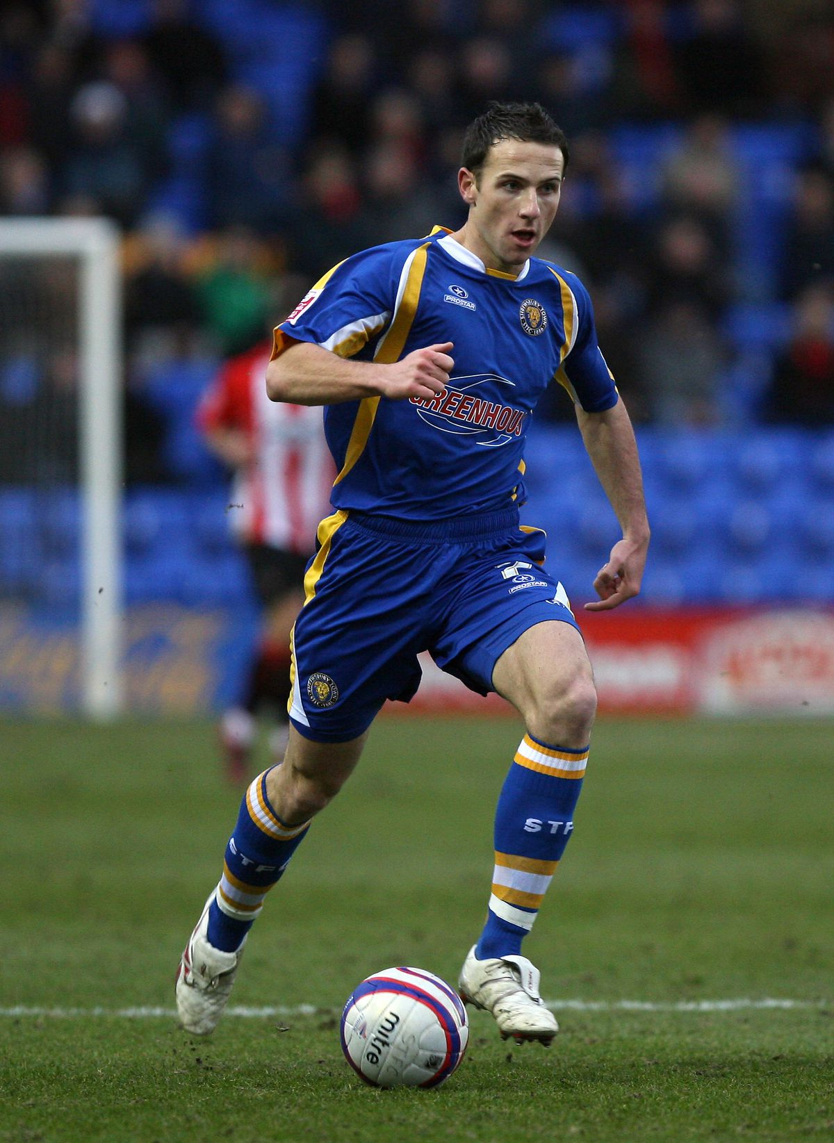 Marc Pugh of Shrewsbury Town