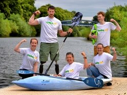 Cycling, running and kayaking challenge for Shrewsbury charity
