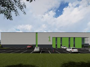 Artist's impression of Pioneer Point in Telford