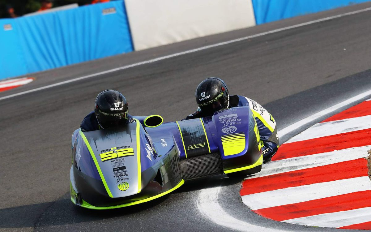 The Philp Racing F1 Sidecar Team will be back racing in Scotland this weekend. Picture: Mark Walters