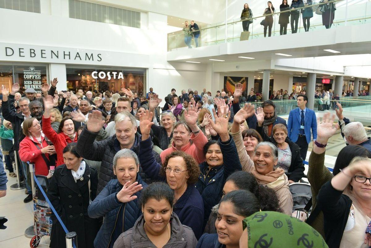 The opening of Wolverhampton Debenhams store in October 2017