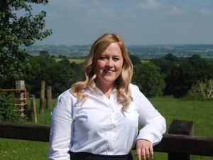 Shropshire Star farming column columnist Clare Williams of Roger Parry & Partners. Clare Williams, Associate in the new Llanidloes office of Roger Parry & Partners..